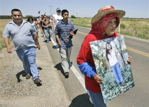 In honor of Maria's death, loved ones march for justice