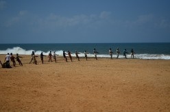 Shanghumugham beach in Trivandrum: Tourist spots of Kerala