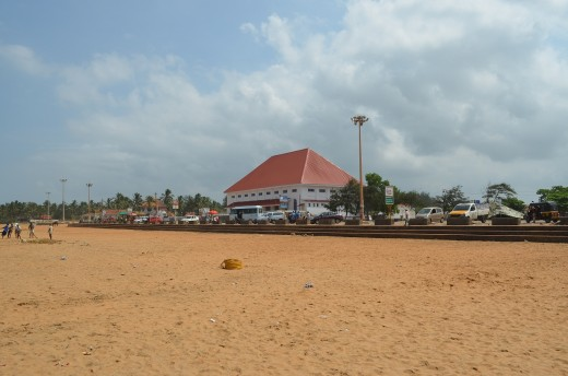 Indian Coffee House, facing the beach
