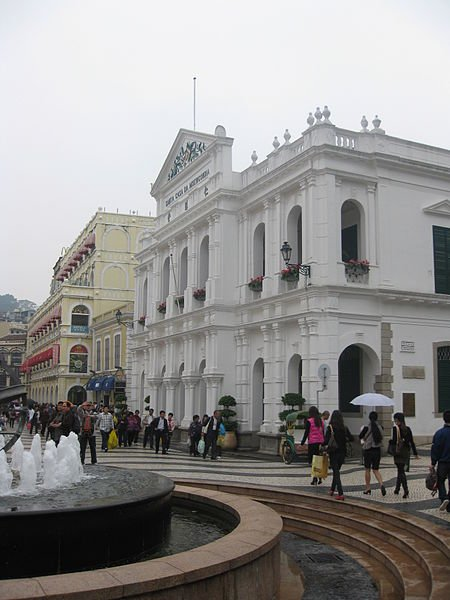 The Senado Square, where most excursions through Macau begin