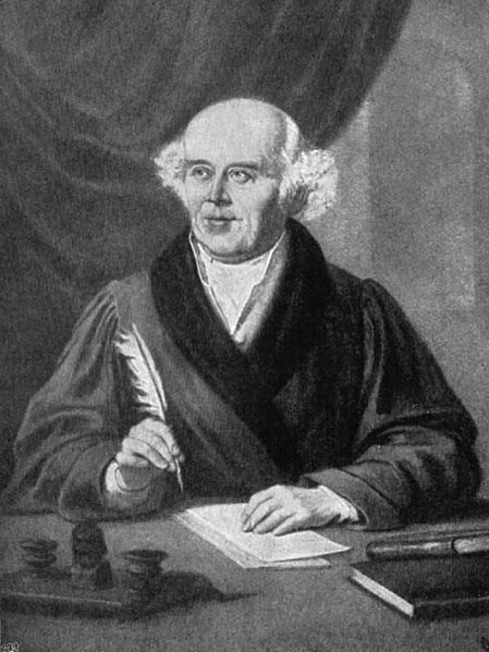 Samuel Hahnemann, founder of homeopathy