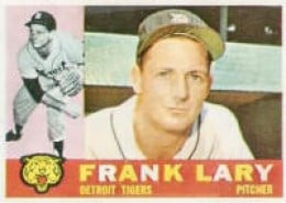The old Yankee Killer, 27 and 10 vs. the Yanks from 1955-1961.
