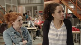 Later Kirsty opens up to Fiz about her troubled past.