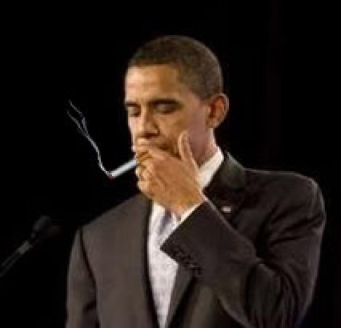 Even presidents have a hard time quitting