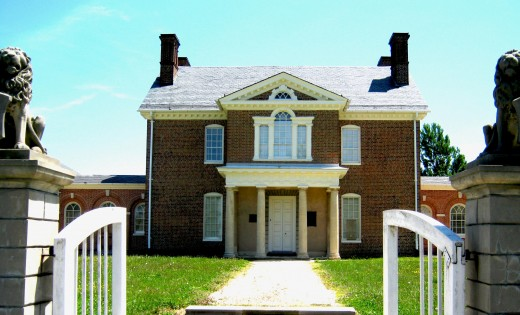 Mount Clare - Baltimore's oldest colonial mansion
