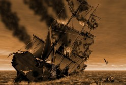 Famous Haunted Places: Block Island, Rhode Island ~ The Ghost Ship, Palatine