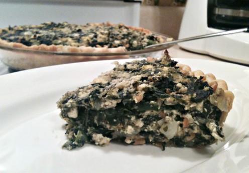 Delicious egg-free quiche