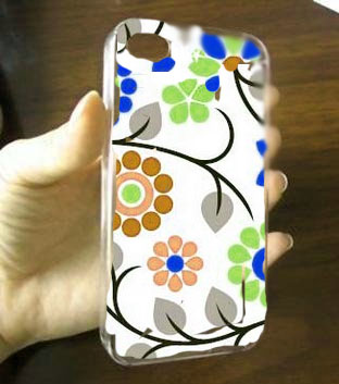 iPhone Cover from Scrapbook paper