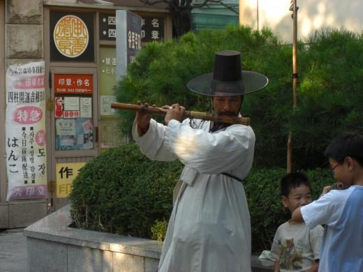 Musician in Insadong