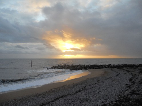 Sunset at West Bay, Bridport, Dorset