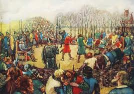 A 'Thing' or meeting. Jarls, chieftains and farmers would put their case for tax increases or decreases, depending on how things were going