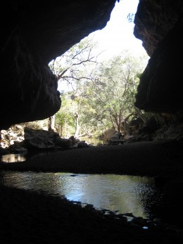Tunnel Creek Cave on the way