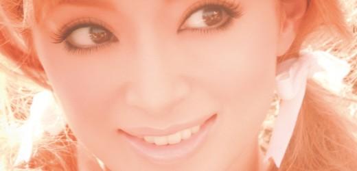"""Ayumi Hamasaki promoting her 12th album, """"Love songs""""."""