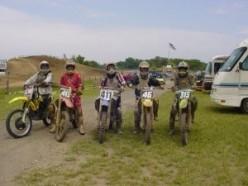 Friends at Motoland Pro AM Race