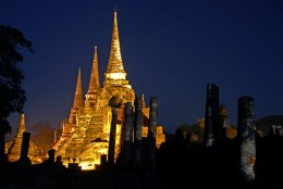 Wat Phra - One of many Wats (temples) in Thailand