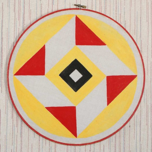 A Pennsylvania Dutch Barn Hex Against The Evil Eye