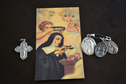 Saint Card and Medals