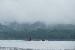 Our 40 minute journey up the Chagres River into the Panamanian jungle begins.