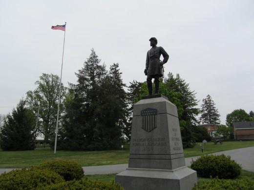 Statue of Maj. Gen. John F. Reynolds, born in my hometown of Lancaster, PA