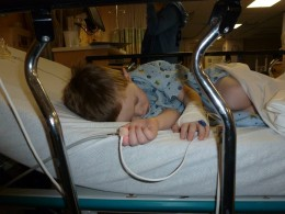 Children may have a difficult time waking from anesthesia, and may feel nauseated, hot, and alternate between sleep and wakefulness.