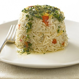 Rice timbale