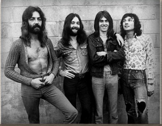 Foghat- early 70's
