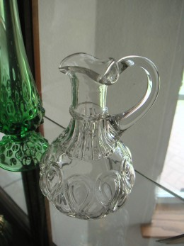 Ribbon Candy Pitcher from the late 1800s