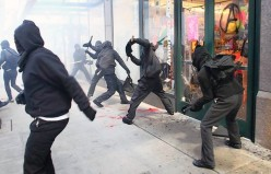 Implements of Urban Destruction: Black Blockers Took Over Seattle May Day Protest