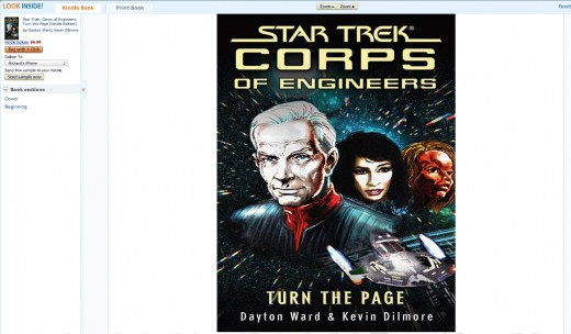 Star Trek Corps of Engineers: Turn The Page by David Ward & Kevin Dimore
