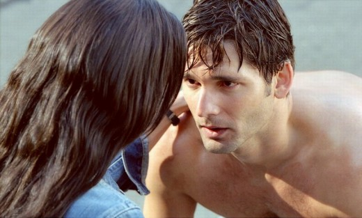 Jennifer Connelly and Eric Bana in Hulk (2003)