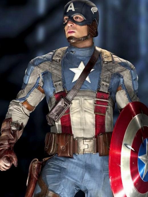 Chris Evans as Captain America (2011)