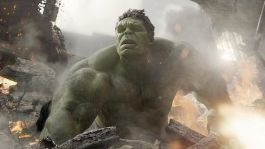 The Hulk is loose in The Avengers (2012)