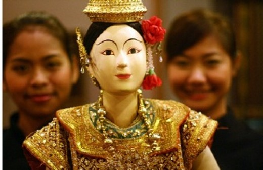 Thai puppet theater is a relatively new phenomenon.