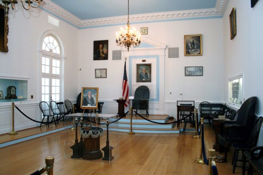 The Lodge 22 Replica Room