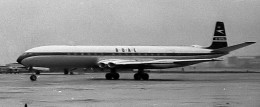 The de Havilland Comet 1, the first passenger jetliner used by the British Overseas Airways Corporation