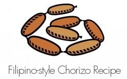 Filipino-style Chorizo Recipe