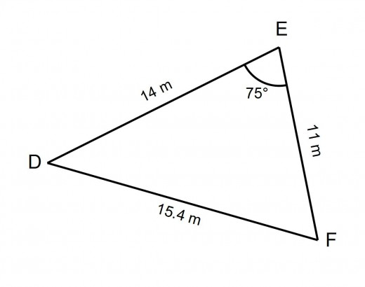how to find side lengths of a triangle given area