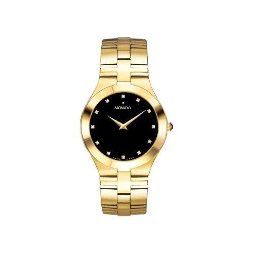 Men's | Gold | Sapphire Crystal