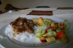 Beef Tips Recipe with Rice