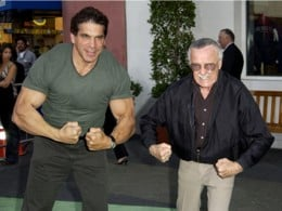 Lou Ferrigno with Stan Lee