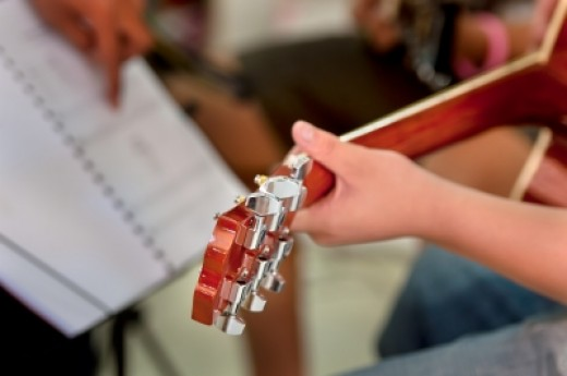 Music-playing students are hybrids of the college and musician varieties. These people are the best to ask about new music.