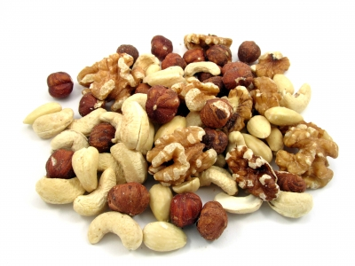 There are a wide variety of nuts to choose from
