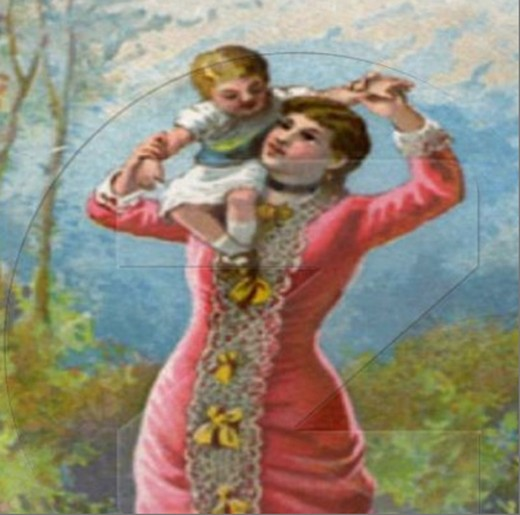 Mother's Day comes around only once a year. A day to show her how much you appreciate her for all the little things she has done for you. Click on the source to view this vintage picture in its entirety by Sandyspider.