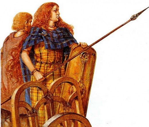 A fairly accurate image of Boudicca
