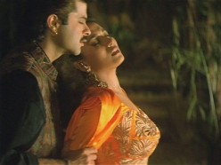 Anil Kapoor and Madhuri Dixit in Beta.