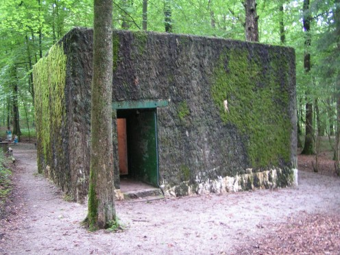 The Wolf's Lair, Hitler's Bunker in the Ardennes, Brûly-de-Pesche, near Couvin, Belgium