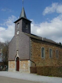Brûly-de-Pesche, church