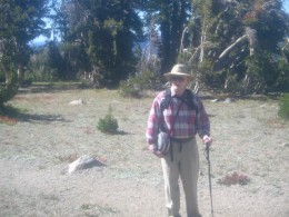 Yours truly on a short hike to Round Top Lake, in California's Northern Sierras.