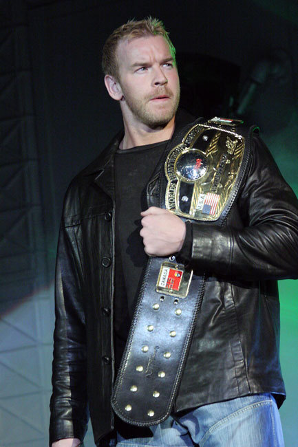 Christian Cage as NWA heavyweight champion