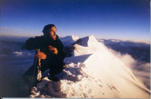 Eric Weihenmayer, the first blind person to summit Mt. Everest